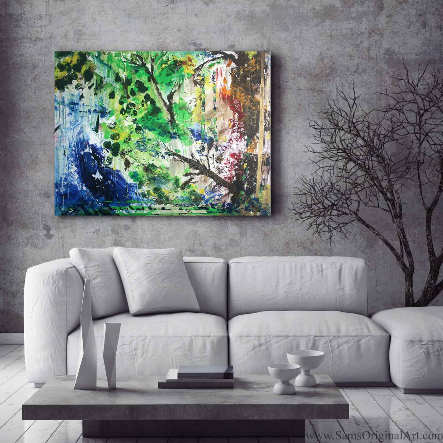 Modern Home Giclee Print Title: Growth