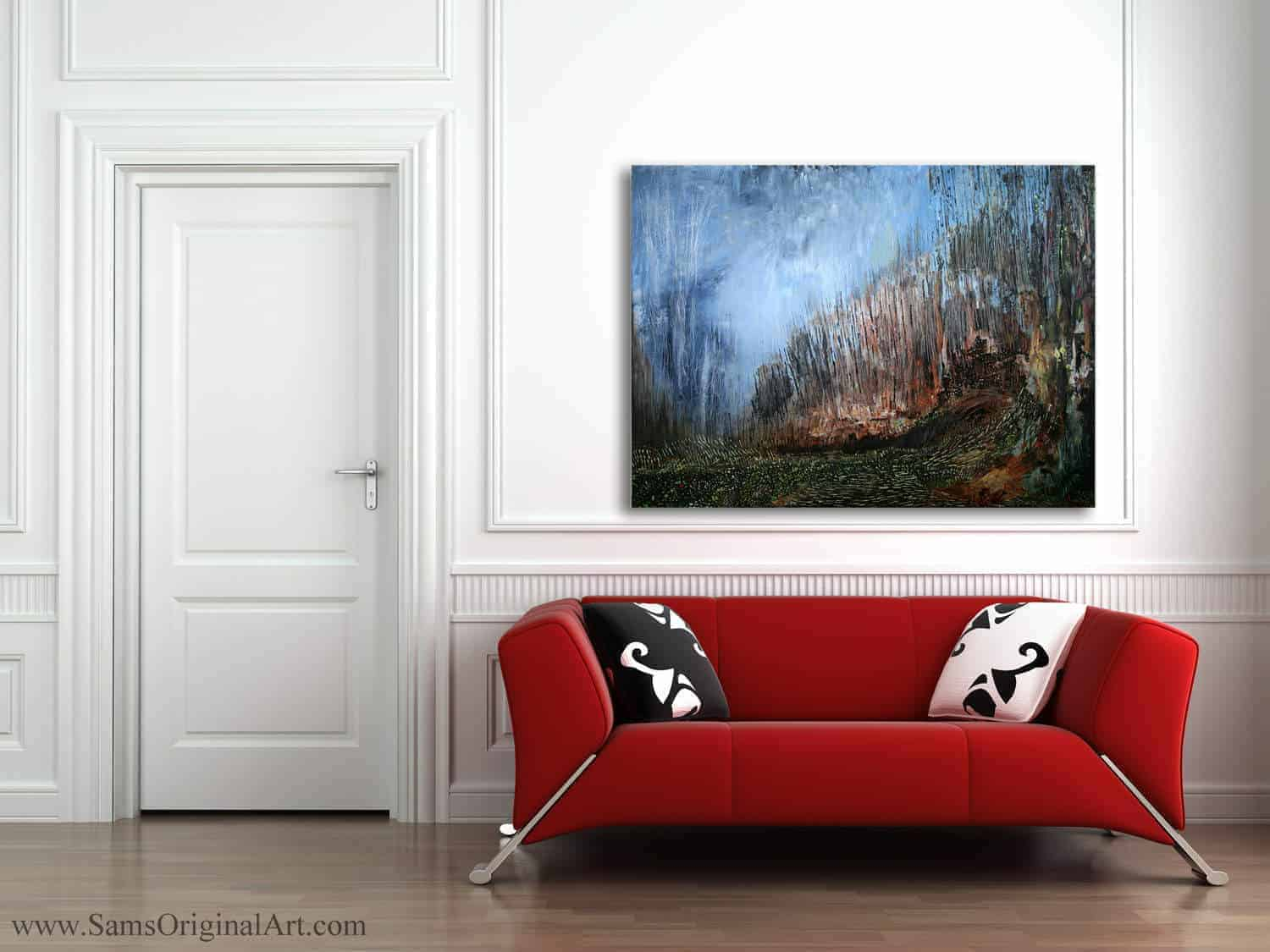 Giclee Wall Print Title: Zephyr