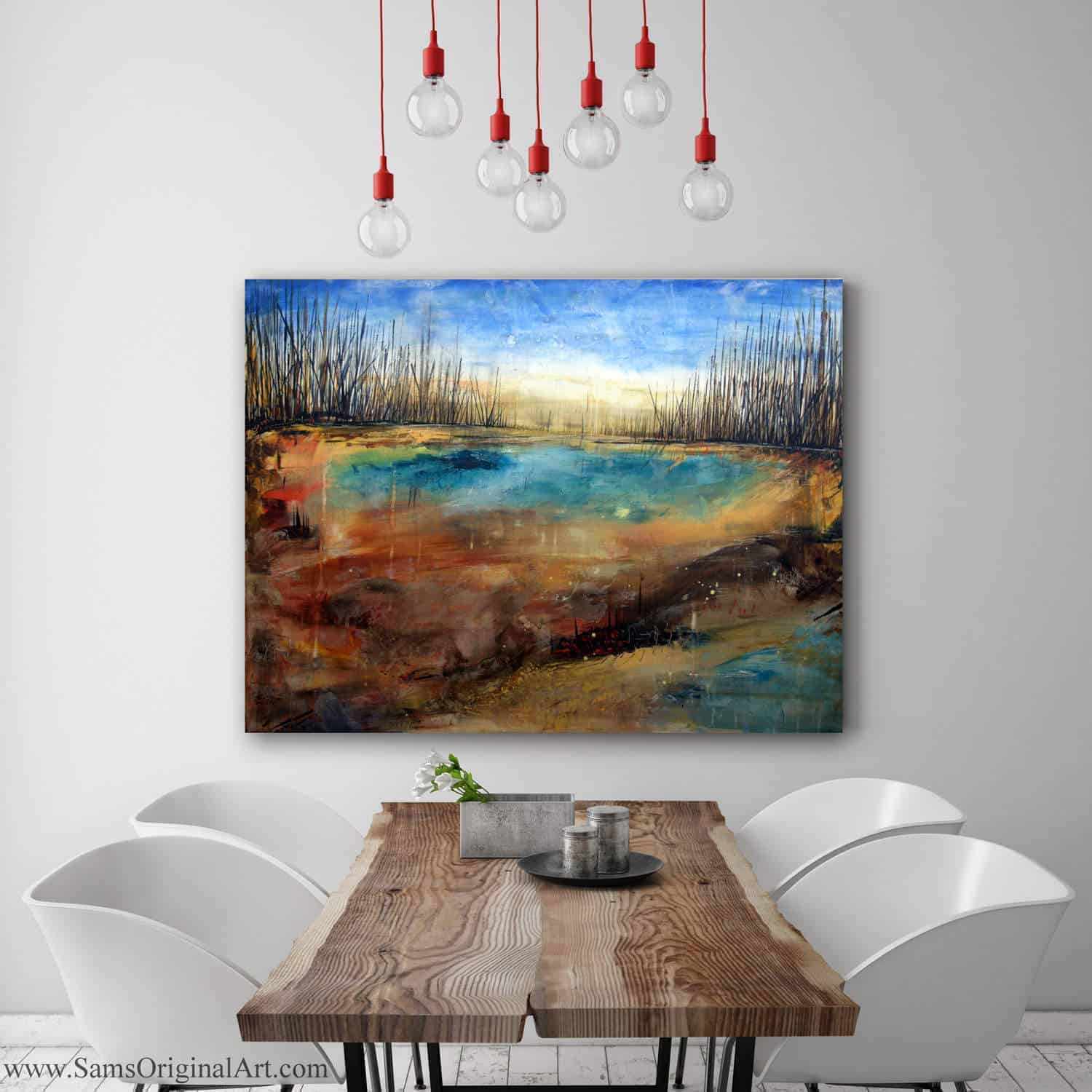 Contemporary Giclee Print Title: Arid