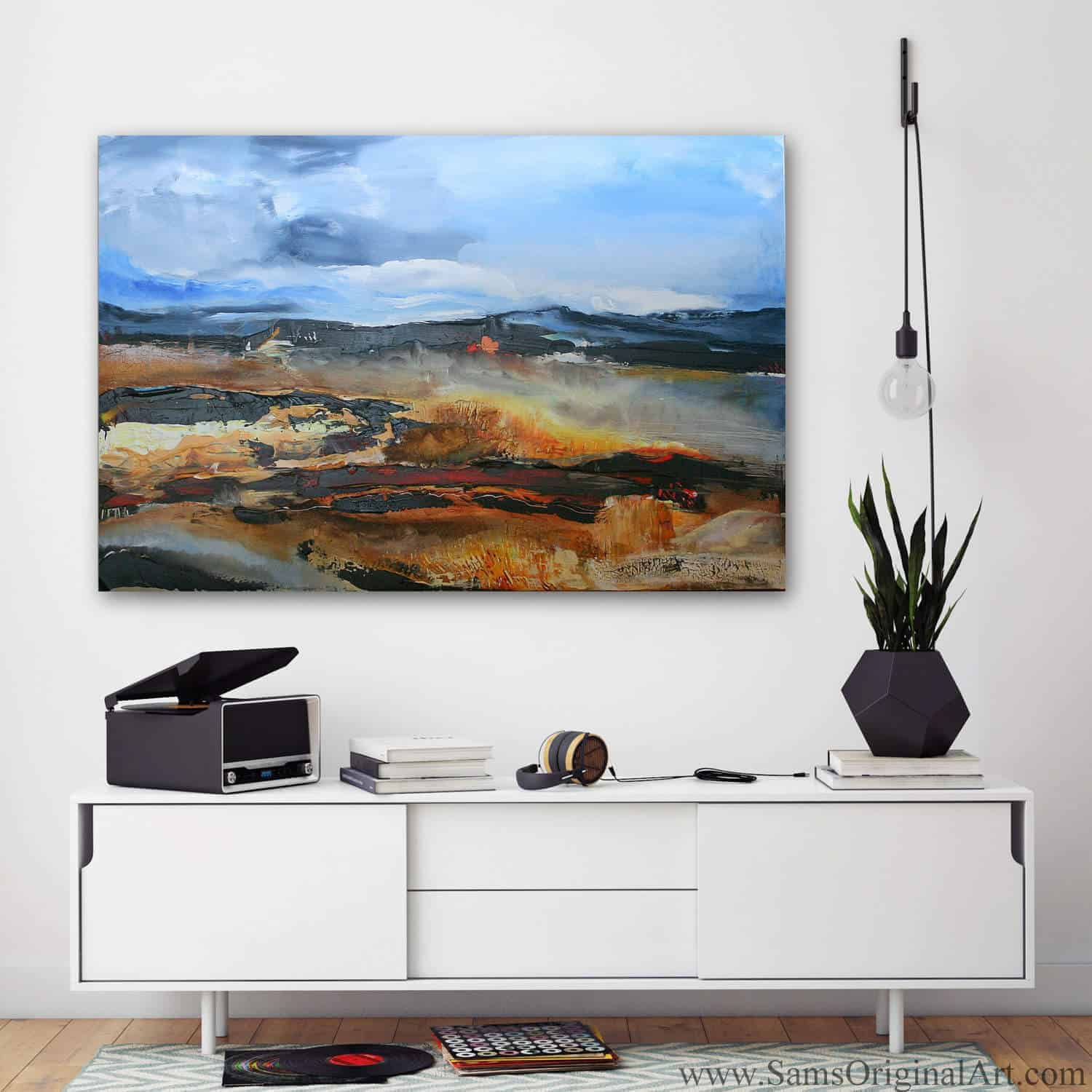 Landscape Giclee Print Title: Spanish Banks