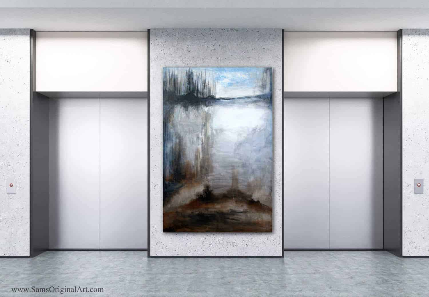 Giclee Wall Print Title: Morning Mist