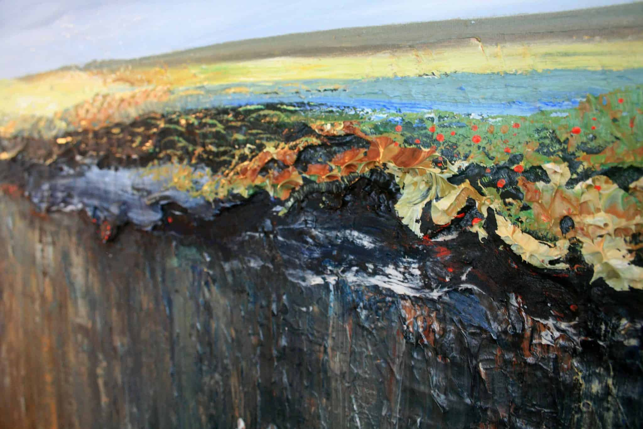 Giclee Print Close Up Title: Cliffs of Moher