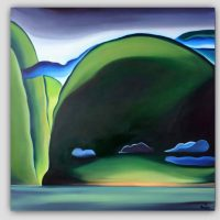 Large Giclee Print Title: Gambier Island