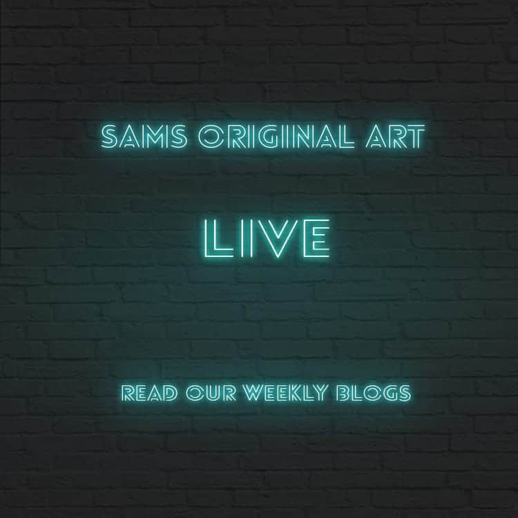 Sams Original Art Live Blogs