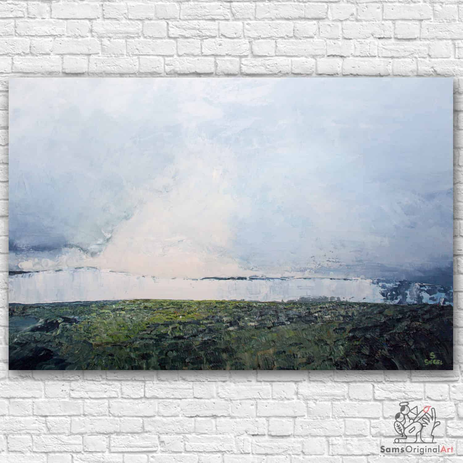 abstract landscape painting vancouver