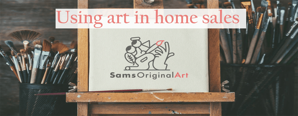 art in home sales