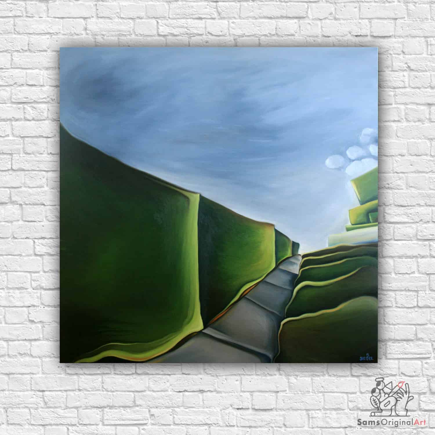 modern abstract painting vancouver