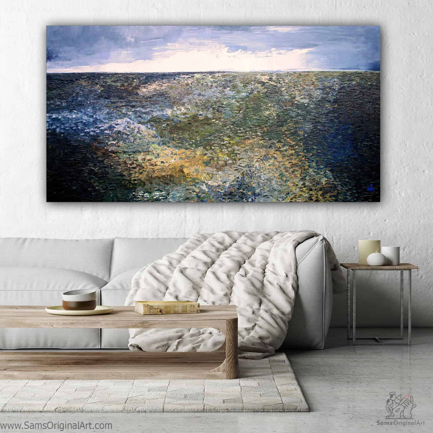 textured paintings Vancouver