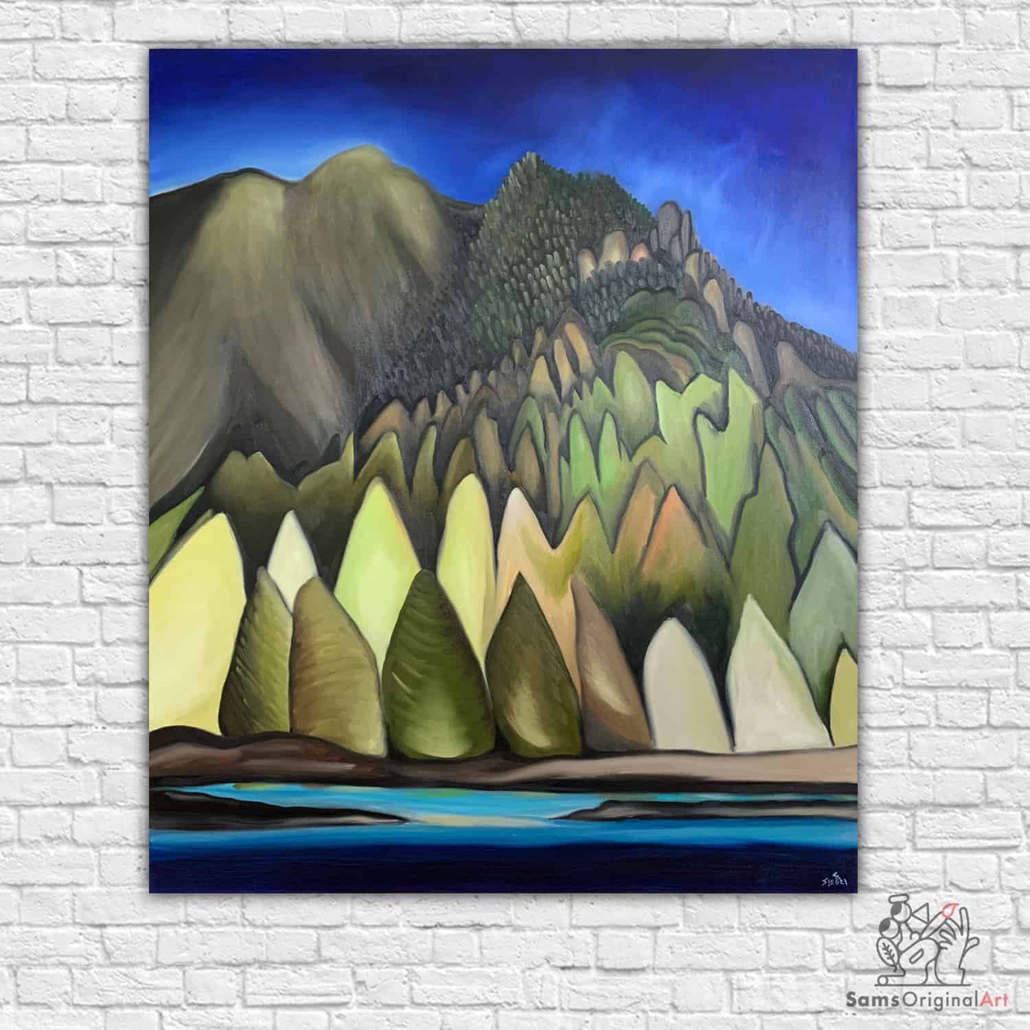 Vancouver Mountain Paintings