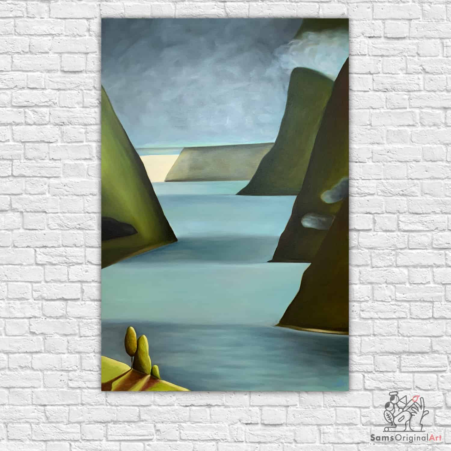 Abstract Landscape Paintings Vancouver