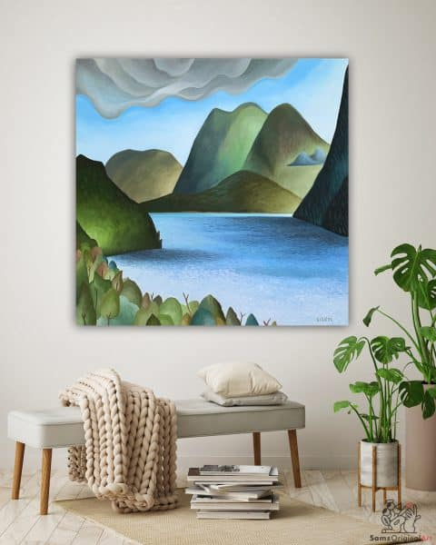 Local Mountain Paintings